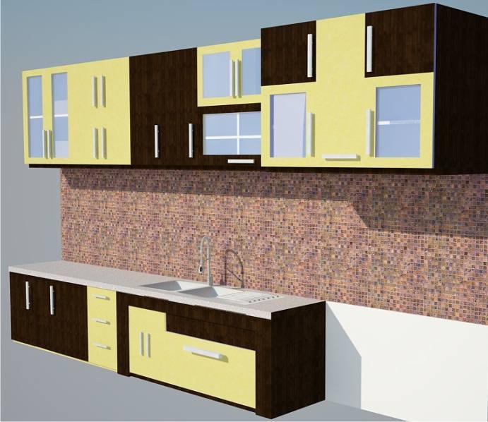 Semua ukuran pas kami buat sesuai dengan desain interior dapur nya Kitchen design software google sketchup