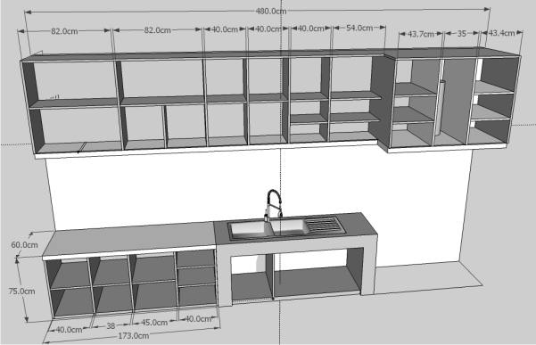 Cara Memasang Kitchen Set Ke Dinding
